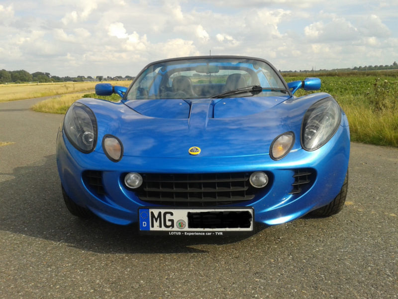 verkauft lotus elise mk2 racetech auss gebraucht 2001 km in m nchengladbach. Black Bedroom Furniture Sets. Home Design Ideas