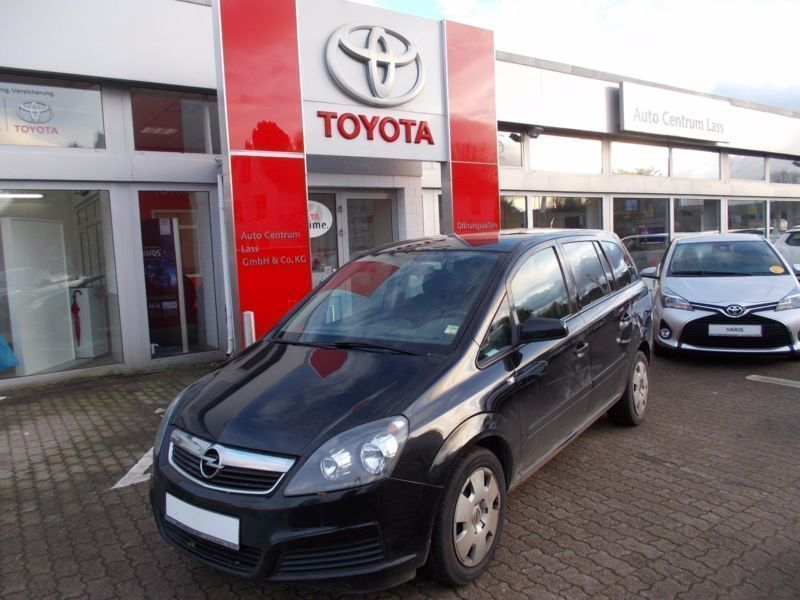 Verkauft Opel Zafira 16 Cng Edition Gebraucht 2006 134500 Km In