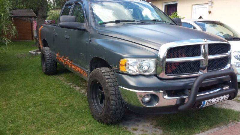 verkauft dodge ram 4x4 gebraucht 2003 km in stahnsdorf. Black Bedroom Furniture Sets. Home Design Ideas