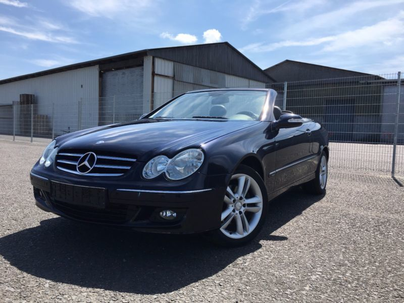 verkauft mercedes clk200 clk cabriokom gebraucht 2007 km in siershahn. Black Bedroom Furniture Sets. Home Design Ideas