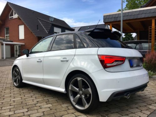verkauft audi a1 sportback 1 4 tdi ul gebraucht 2015. Black Bedroom Furniture Sets. Home Design Ideas