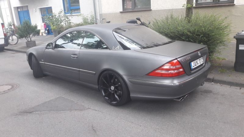 gebraucht mercedes cl500 2000 km in bochum autouncle. Black Bedroom Furniture Sets. Home Design Ideas