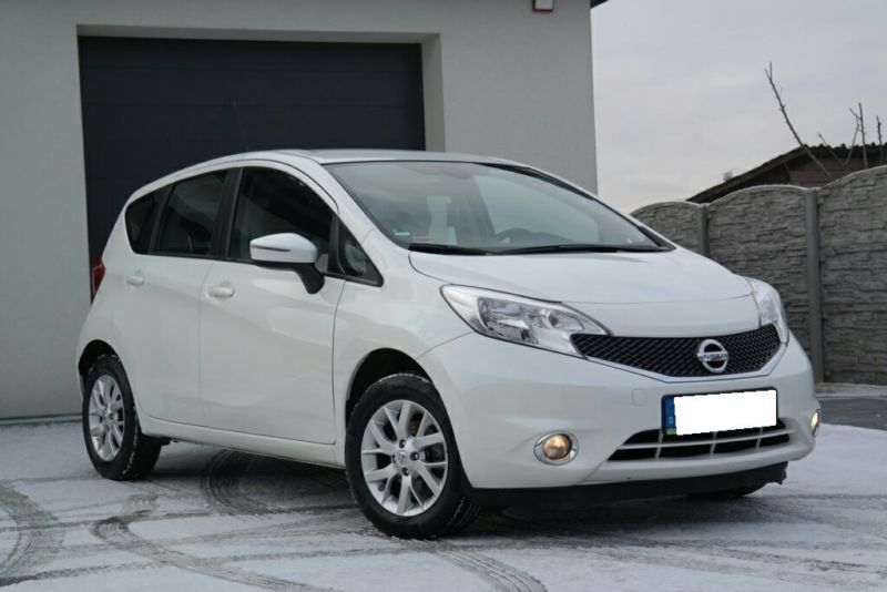 verkauft nissan note 1 2 acenta gebraucht 2014 km. Black Bedroom Furniture Sets. Home Design Ideas