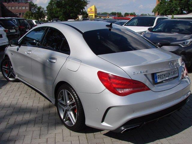 gebraucht sport 4matic navi xenon r kamera akti mercedes cla45 amg 2014 km in falkensee. Black Bedroom Furniture Sets. Home Design Ideas