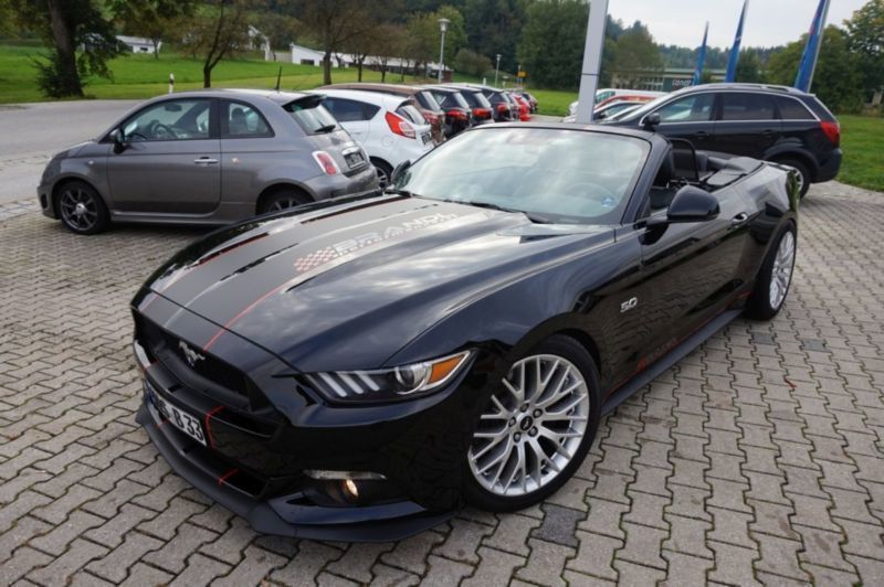verkauft ford mustang cabrio 5 0 ti vc gebraucht 2017 2. Black Bedroom Furniture Sets. Home Design Ideas