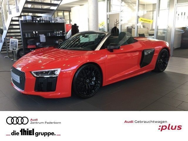 verkauft audi r8 spyder v10 quattro up gebraucht 2017 8. Black Bedroom Furniture Sets. Home Design Ideas