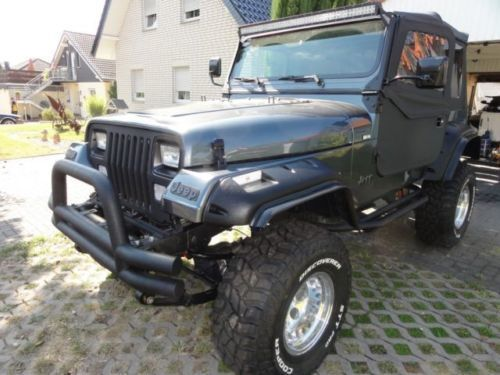 verkauft jeep wrangler 4 0 gebraucht 1994 km in pfarrkirchen. Black Bedroom Furniture Sets. Home Design Ideas