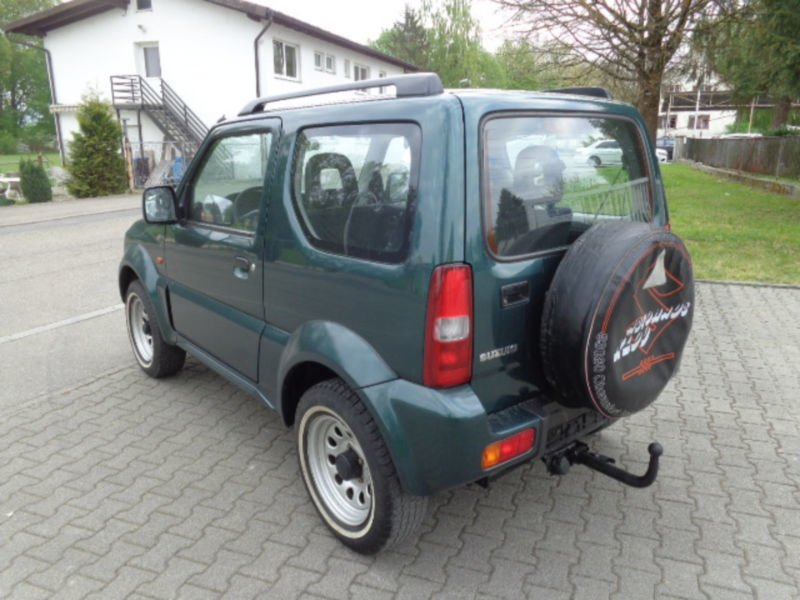 verkauft suzuki jimny 4wd gebraucht 2003 km in lahr. Black Bedroom Furniture Sets. Home Design Ideas