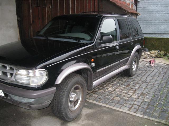 verkauft ford explorer 4 0 g nstig bei gebraucht 1997 km in de m nchen. Black Bedroom Furniture Sets. Home Design Ideas