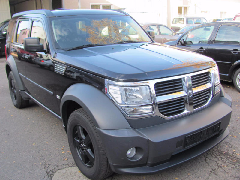 nitro gebrauchte dodge nitro kaufen 131 g nstige autos zum verkauf. Black Bedroom Furniture Sets. Home Design Ideas
