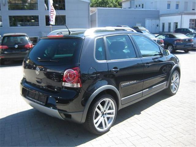 verkauft vw polo cross cross 1 6 benzi gebraucht 2008 km in mehring. Black Bedroom Furniture Sets. Home Design Ideas