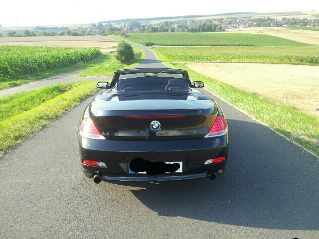 gebraucht 6er aut bmw 630 cabriolet 2006 km in schwanfeld. Black Bedroom Furniture Sets. Home Design Ideas