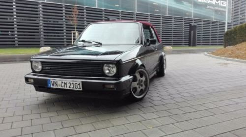 verkauft vw golf cabriolet gebraucht 1989 km in. Black Bedroom Furniture Sets. Home Design Ideas
