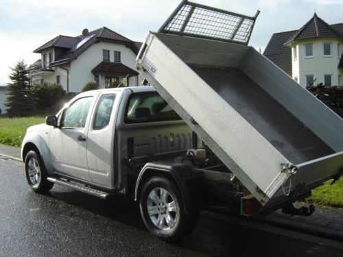verkauft nissan navara 3 seitenkipper gebraucht 2007 km in bad endbach. Black Bedroom Furniture Sets. Home Design Ideas