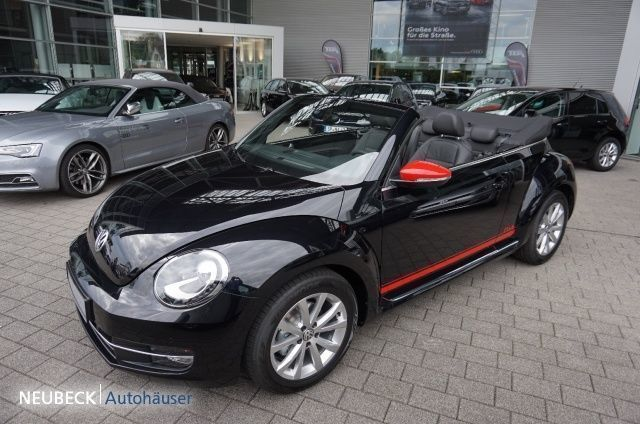 verkauft vw beetle cabrio club 1 4 tsi gebraucht 2016 6. Black Bedroom Furniture Sets. Home Design Ideas