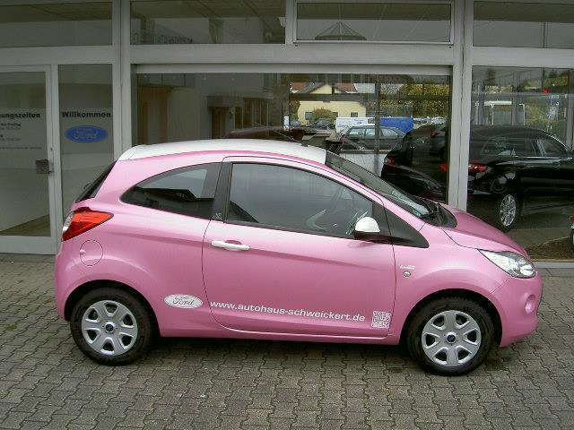verkauft ford ka 1 2 trend barbie pink gebraucht 2010 km in nu loch. Black Bedroom Furniture Sets. Home Design Ideas