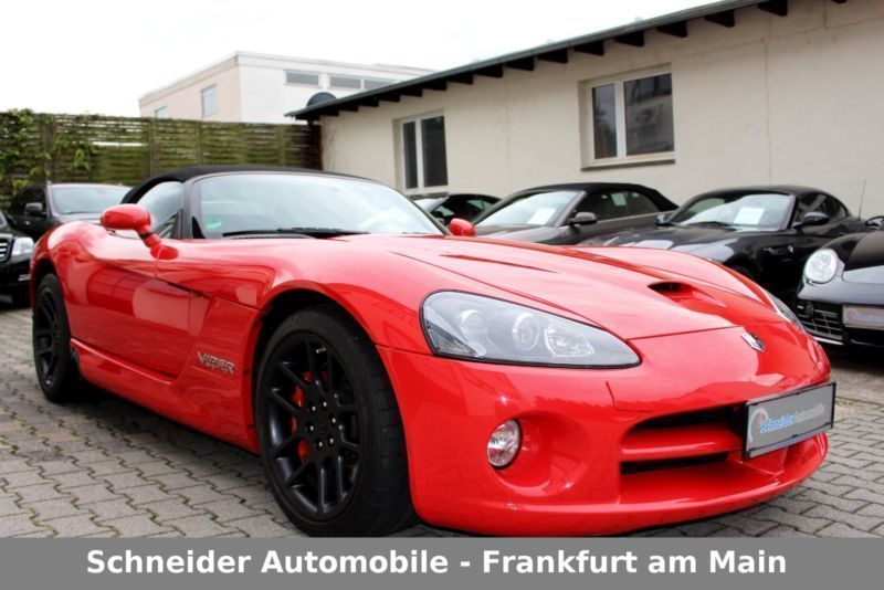 verkauft dodge viper srt 10 hu au neu gebraucht 2009 km in erfurt. Black Bedroom Furniture Sets. Home Design Ideas