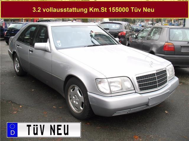 verkauft mercedes s320 se vollausstatt gebraucht 1992 km in hamburg. Black Bedroom Furniture Sets. Home Design Ideas