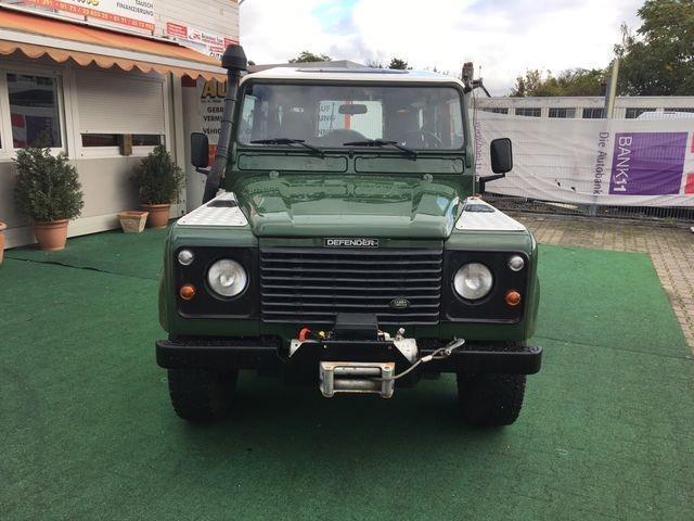 verkauft land rover defender 110 sw td gebraucht 1997 km in mainz kostheim. Black Bedroom Furniture Sets. Home Design Ideas