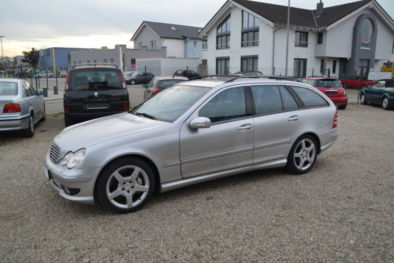 gebraucht t cdi amg mercedes c30 amg 2003 km in tigheim. Black Bedroom Furniture Sets. Home Design Ideas