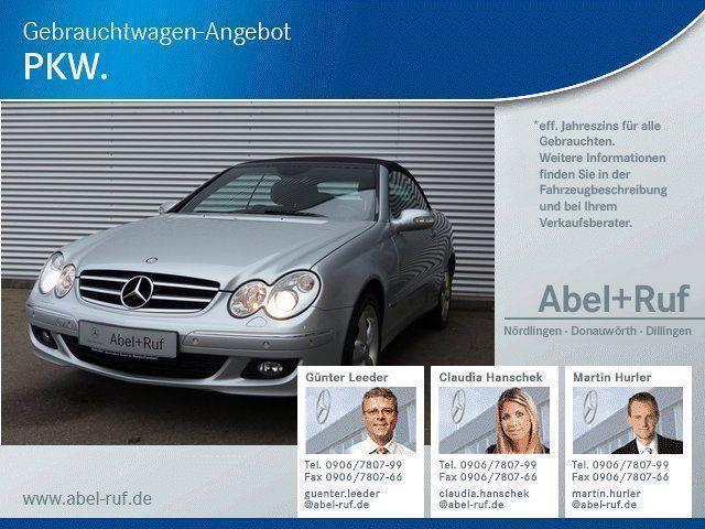 gebraucht Mercedes CLK320 CDI Avantgarde Comand Xenon