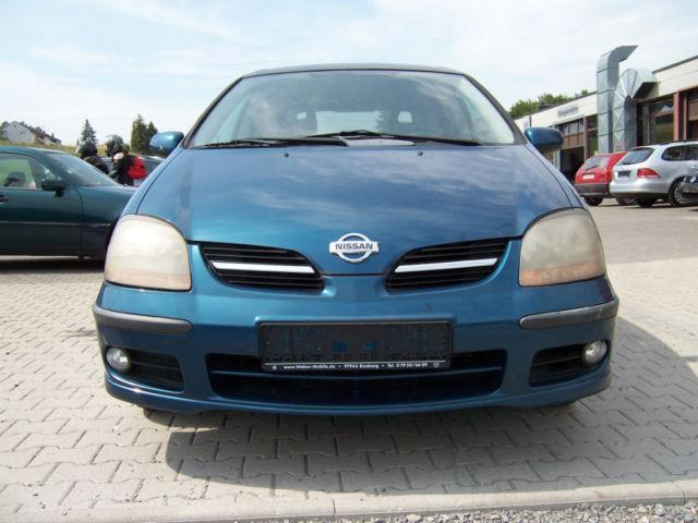 verkauft nissan almera tino 2 2 diesel gebraucht 2000 km in lage. Black Bedroom Furniture Sets. Home Design Ideas