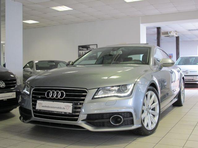 verkauft audi a7 3 0 tdi 2x s line hea gebraucht 2011 km in espenau. Black Bedroom Furniture Sets. Home Design Ideas