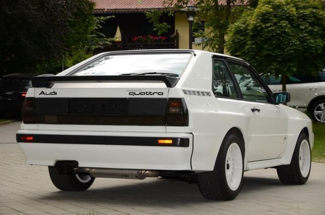 verkauft audi sport quattro karosserie gebraucht 1985 0 km in bayern. Black Bedroom Furniture Sets. Home Design Ideas