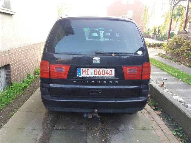 verkauft seat alhambra 2 0 tdi referen gebraucht 2006 km in reinickendorf. Black Bedroom Furniture Sets. Home Design Ideas