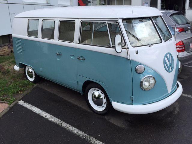 verkauft vw t1 bus 11 fenster rostfre gebraucht 1964 km in hessen. Black Bedroom Furniture Sets. Home Design Ideas