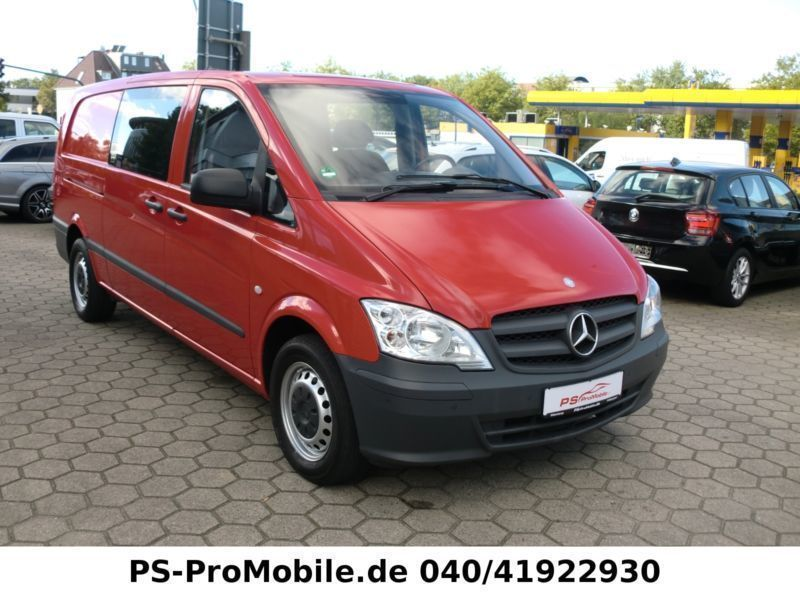 verkauft mercedes vito mixto 116 cdi e gebraucht 2013. Black Bedroom Furniture Sets. Home Design Ideas