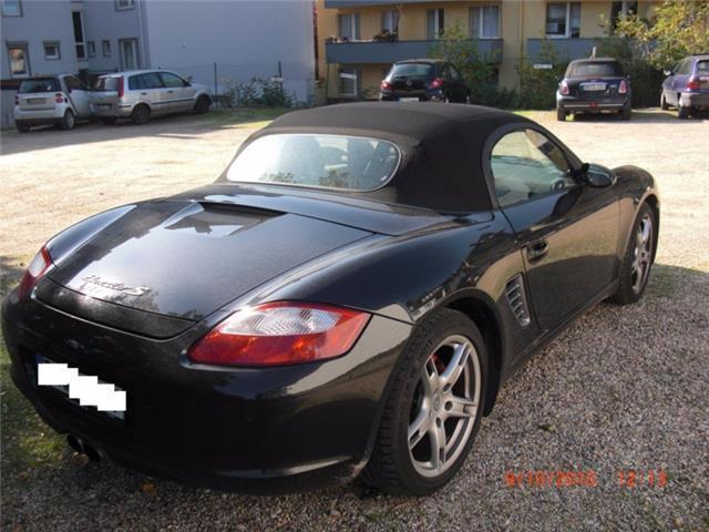 verkauft porsche boxster rs 60 spyder gebraucht 2008 km in sulzbach. Black Bedroom Furniture Sets. Home Design Ideas