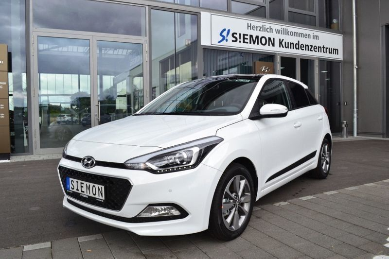 verkauft hyundai i20 1 1 crdi passionp gebraucht 2017 10 km in warendorf. Black Bedroom Furniture Sets. Home Design Ideas
