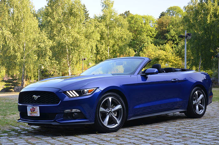 verkauft ford mustang cabrio leder kl gebraucht 2016 km in kassel. Black Bedroom Furniture Sets. Home Design Ideas