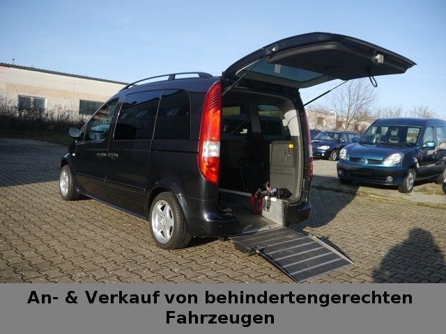 verkauft mercedes vaneo 1 9 behinderte gebraucht 2002 km in w rzburg. Black Bedroom Furniture Sets. Home Design Ideas