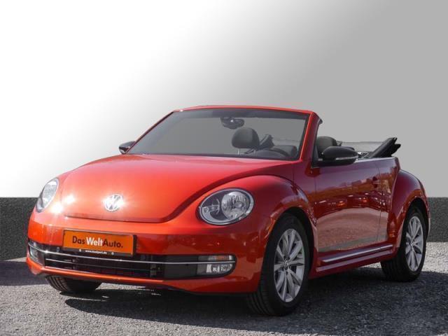 verkauft vw beetle cabrio karmann de gebraucht 2016 km in eisenach. Black Bedroom Furniture Sets. Home Design Ideas