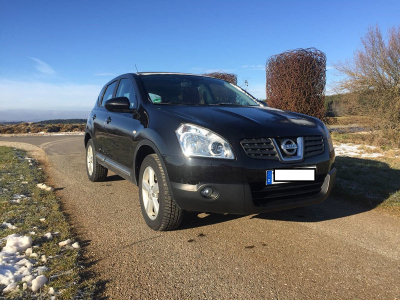 verkauft nissan qashqai 2 0 acenta 4x2 gebraucht 2007 km in cottbus. Black Bedroom Furniture Sets. Home Design Ideas