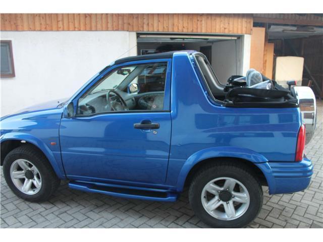 verkauft suzuki grand vitara cabrio 2 gebraucht 2001. Black Bedroom Furniture Sets. Home Design Ideas