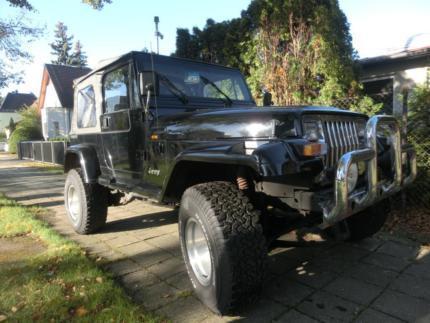 verkauft jeep wrangler 4 0 gebraucht 1991 km in. Black Bedroom Furniture Sets. Home Design Ideas
