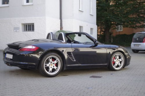 verkauft porsche boxster s gebraucht 2005 km in augsburg. Black Bedroom Furniture Sets. Home Design Ideas