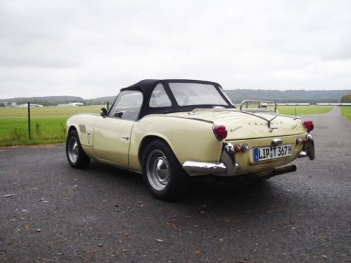 verkauft triumph spitfire gt 6 mk 1 gebraucht 1967 km in oerlinghausen. Black Bedroom Furniture Sets. Home Design Ideas