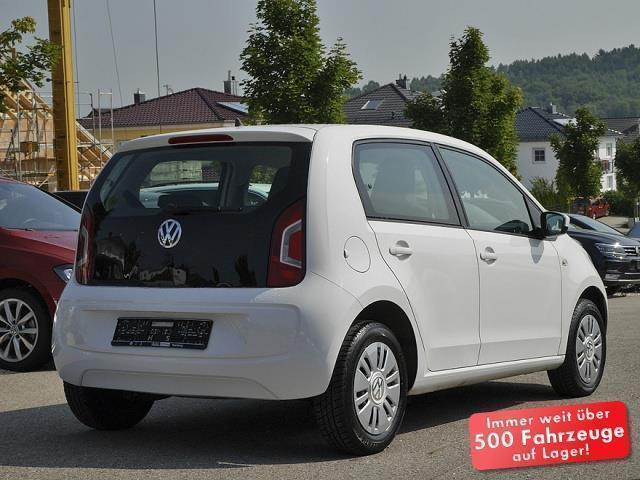 verkauft vw up up move gebraucht 2013 km in mainburg. Black Bedroom Furniture Sets. Home Design Ideas