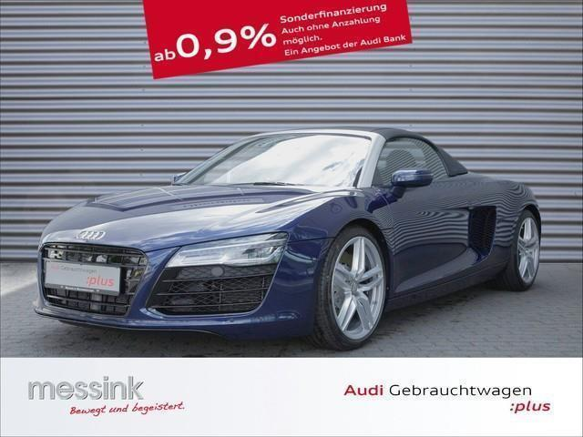 verkauft audi r8 spyder v8 4 2 fsi qua gebraucht 2015 km in wermelskirchen. Black Bedroom Furniture Sets. Home Design Ideas