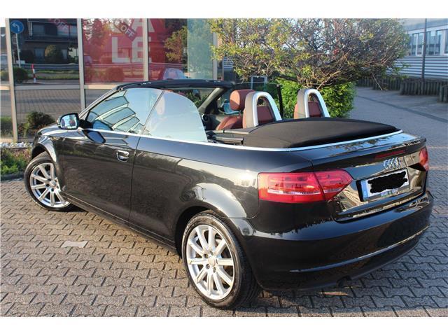 verkauft audi a3 cabriolet 1 6 tdi dpf gebraucht 2011 km in korschenbroich. Black Bedroom Furniture Sets. Home Design Ideas