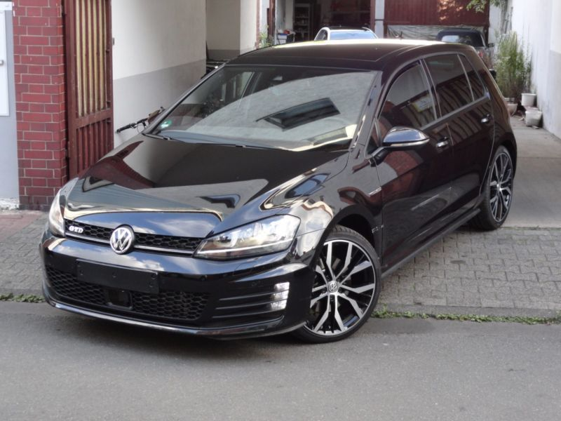 verkauft vw golf vii lim gtd bmt dsg gebraucht 2016 km in raunheim. Black Bedroom Furniture Sets. Home Design Ideas