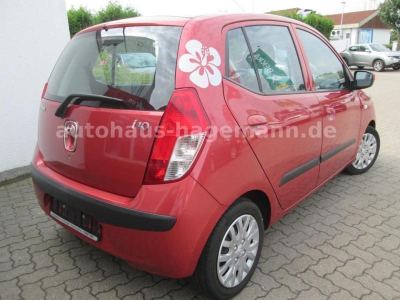 verkauft hyundai i10 1 1 gebraucht 2009 km in mittweida. Black Bedroom Furniture Sets. Home Design Ideas