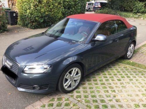 verkauft audi a3 cabriolet 1 8 tfsi at gebraucht 2008 km in heppenheim. Black Bedroom Furniture Sets. Home Design Ideas