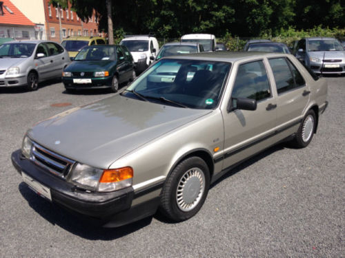 verkauft saab 9000 i 2 3 16 automatik gebraucht 1991 km in hannover. Black Bedroom Furniture Sets. Home Design Ideas
