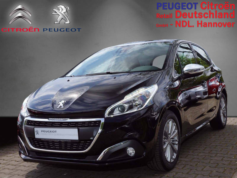 verkauft peugeot 208 allure blue hdi 1 gebraucht 2016 km in hannover. Black Bedroom Furniture Sets. Home Design Ideas