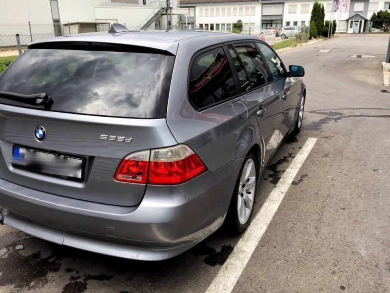 verkauft bmw 535 d touring gebraucht 2006 km in ehingen donau. Black Bedroom Furniture Sets. Home Design Ideas